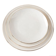 China factory dinner <strong>plate</strong> 8 inch round shape white new pattern souvenir ceramic <strong>plate</strong>