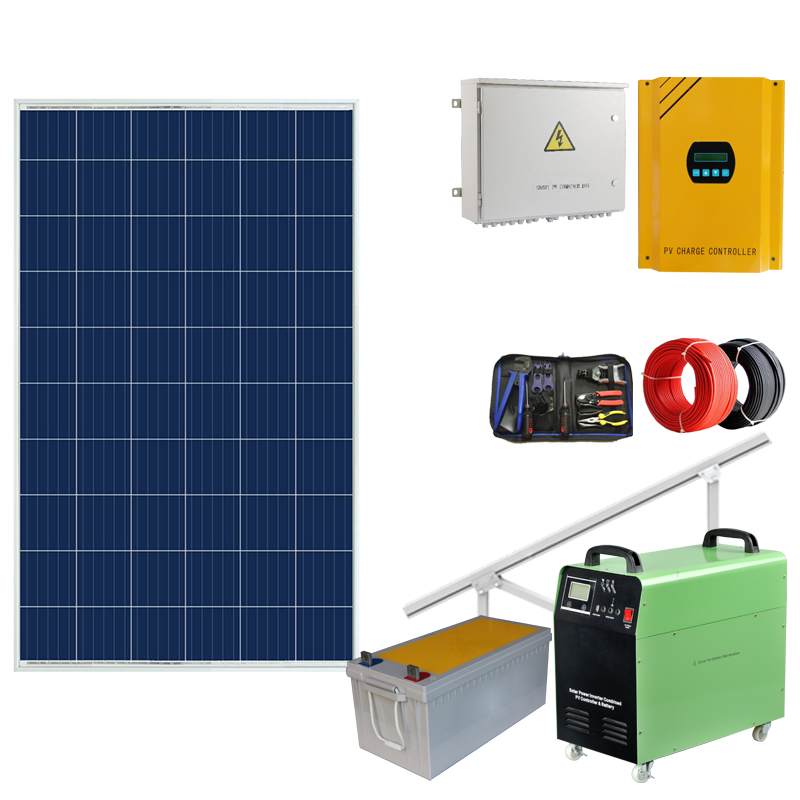 Automatic battery power solar irrigation system chinese <strong>1000w</strong> 1500w 1kw 5kw lithium ion generator charger