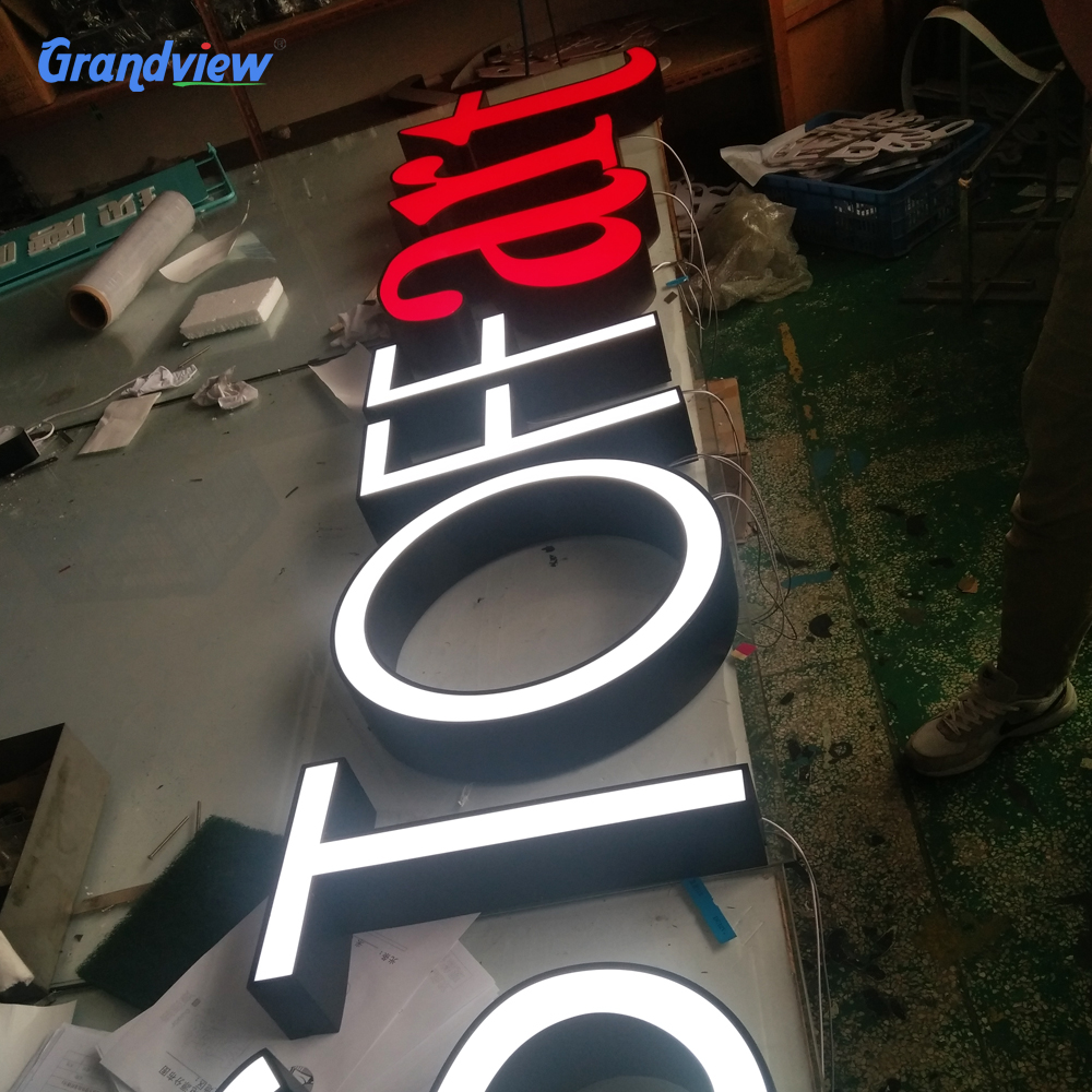 Outdoor waterproof signage led acrylci channel letter <strong>sign</strong> for front shop