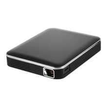 Latest Palm Size DLP Projector P6 Portable Pico Video Projector Beamer Support USB Mini Portable Projector P6
