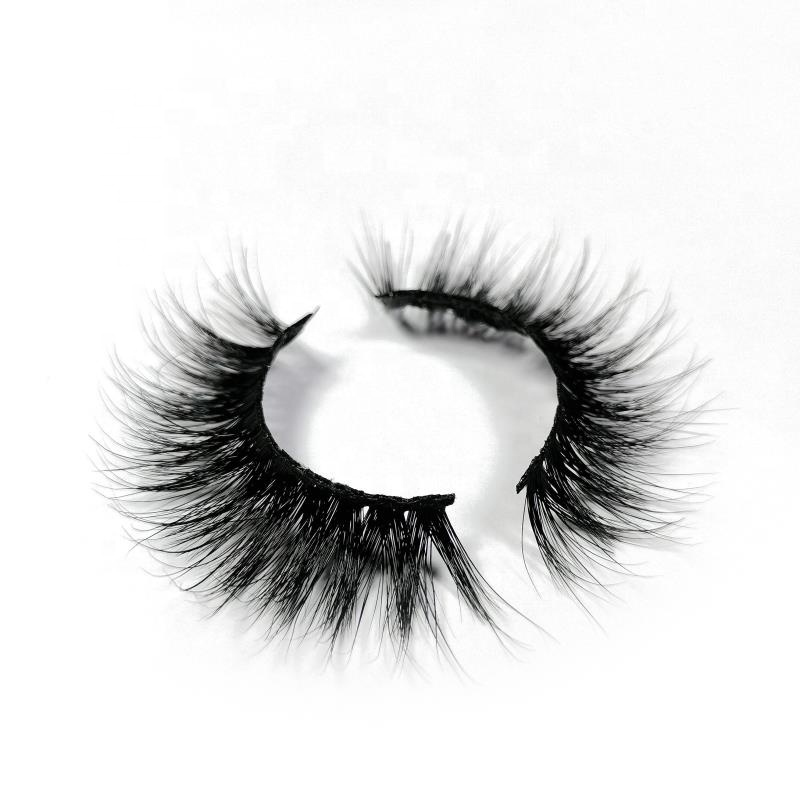 <strong>100</strong>% Mink Fur False Eyelashes Wholesale Private <strong>Label</strong> Free Sample Customize Packaging Real 3D Mink Eyelashes
