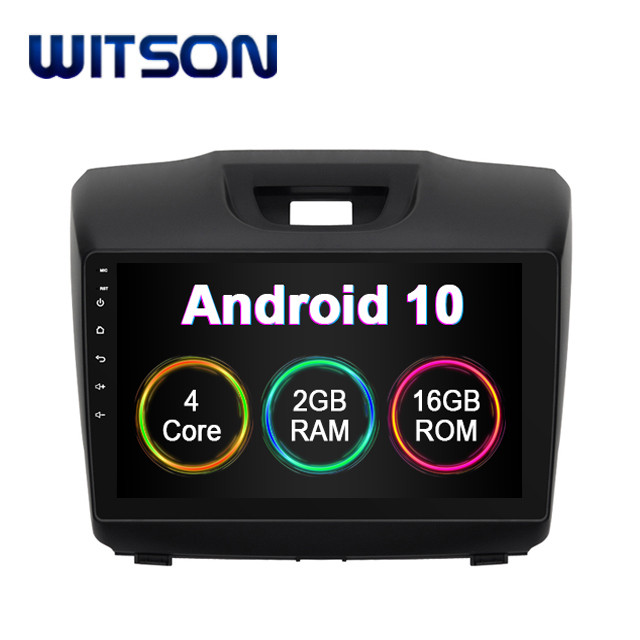 WITSON ANDROID 10 Car Audio System Multimedia for Chevrolet S10/ISUZU <strong>D</strong>-MAX 2013-2014 DVD Car Player