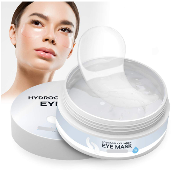 OEM Hydrogel Collagen <strong>Eye</strong> Mask Anti-Aging Under <strong>Eye</strong> Patches Reduce Wrinkles Fine Lines Puffiness Crow's Feet