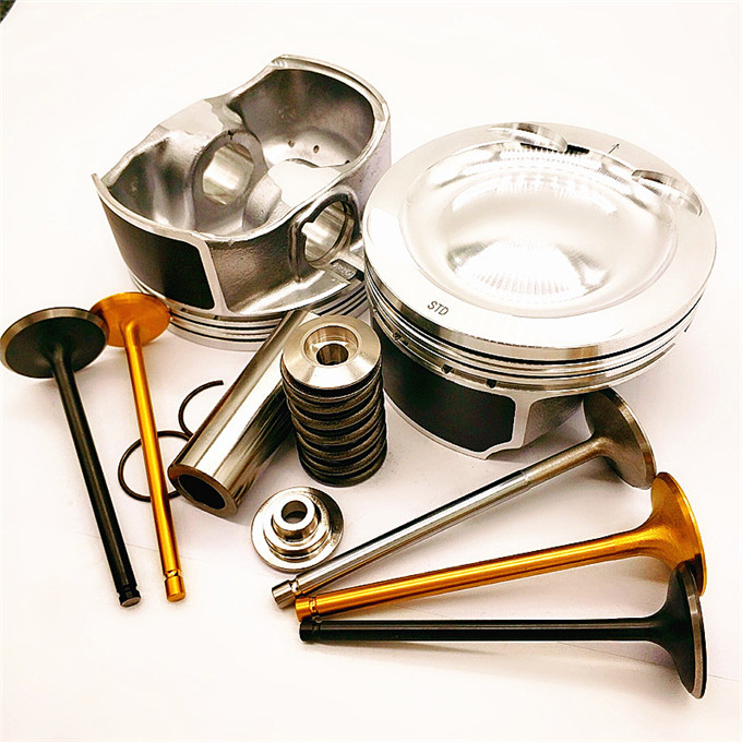 rebuid kits bearing steel quality engine valve Intake valve Exhaust valve set for KUBOTA V1505 D1105 <strong>D1005</strong> d1102 guides seats