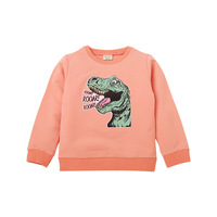 Boys Models Dinosaur Long Sleeve Sweatshirt Top Clothing
