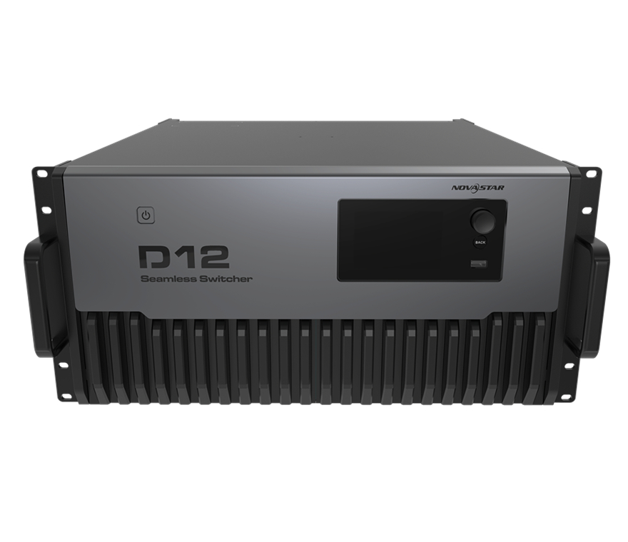 Original Novastar Switcher <strong>D12</strong> Multi-layer Seamless Switcher Best Novastar Video Switcher Live Event GENLOCK IN-LOOP 32 Channel