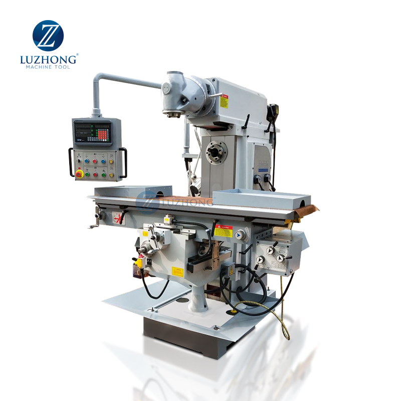 Milling machine price list X6436 swivel head milling machine turret