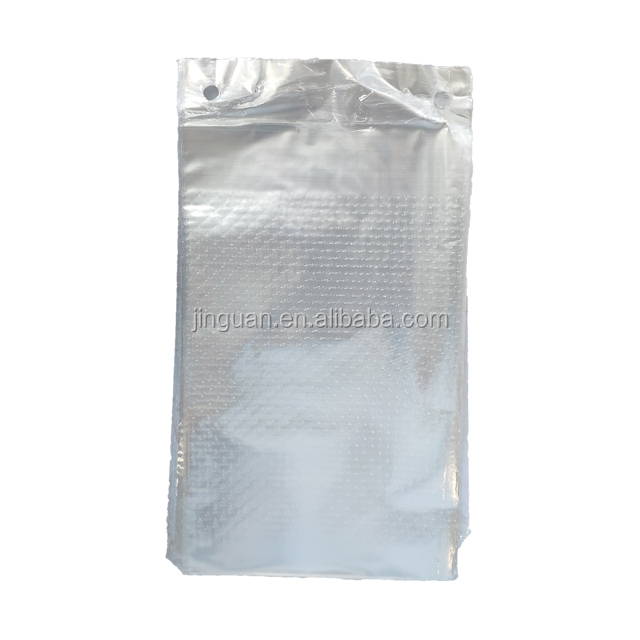 clear LDPE wicketted bag