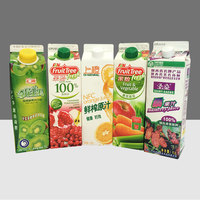 Provide printing service paper cardboard bottle carton milk/juice packaging box