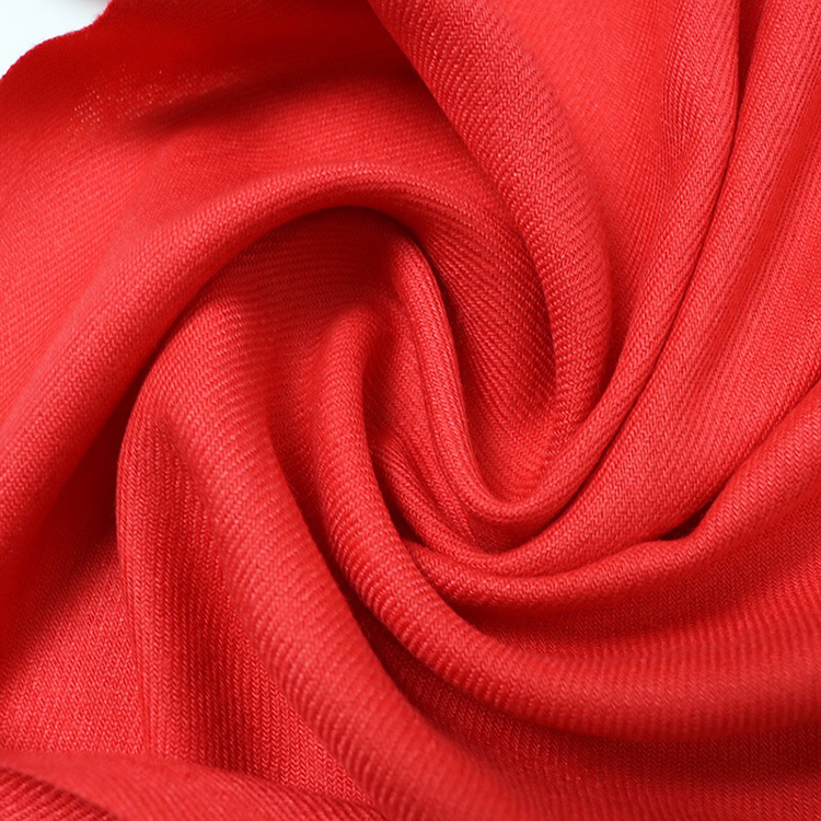 Wholesale Men's Custom Company Scarves Logo Viscose Solid Scarf