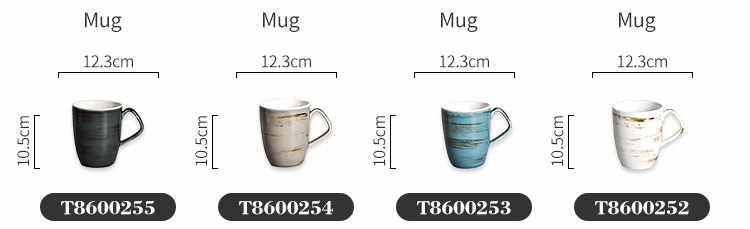 wholesale custom logo cheap white 400ml restaurant ceramic coffee porcelain mug