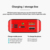 2020 New Led screen digital display portable power bank real 20000mah for smart phone accessories backup battery