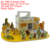 3D paper puzzle manufactory 1690 series Beach house models decoration EPS foam children DIY education IQ jigsaw game Yiwu toys
