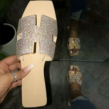 2020 Hot Sale Crystal Slippers Summer Women <strong>Sandals</strong> Ladies Flip Flop