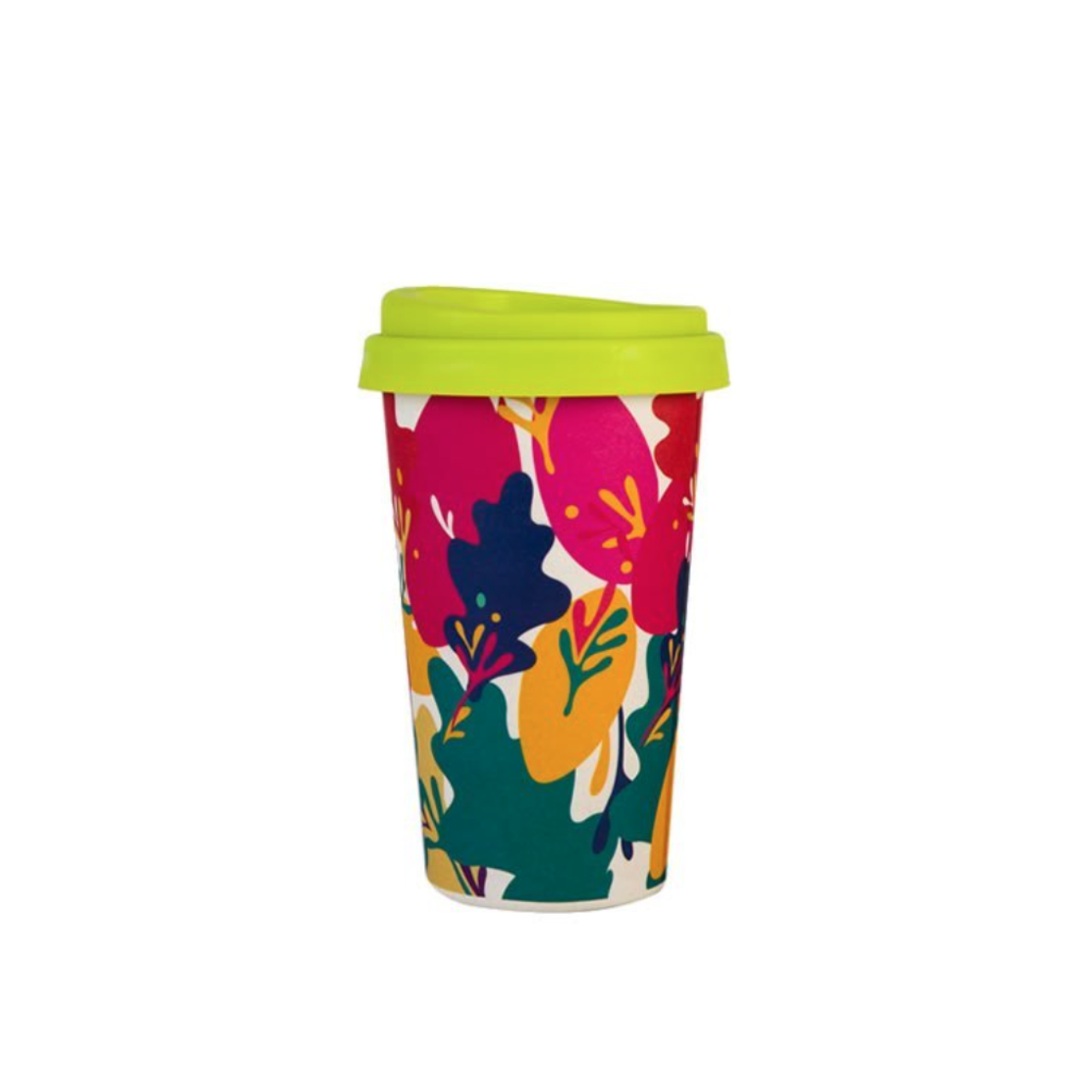 Innovative Reusable Bamboo Fiber Coffee Cup