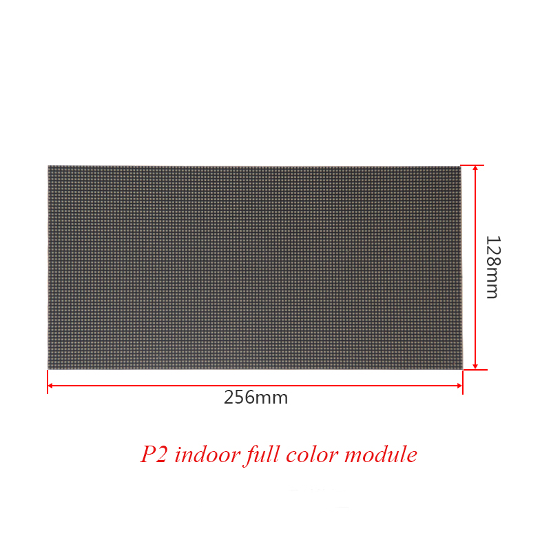 SMD Indoor P2 module HD Full color LED module for Advertising stage Background video play