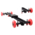 Factory Direct 60CM Length Rail Sliding Dolly Camera Video Track Slider With Four Wheels