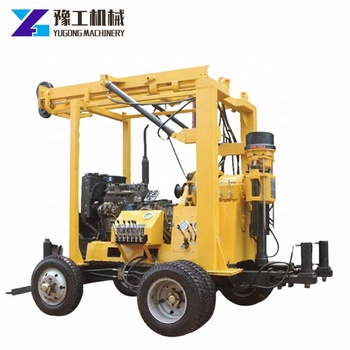 Geological exploration borehole hydraulic drilling rig machine for soil investigation