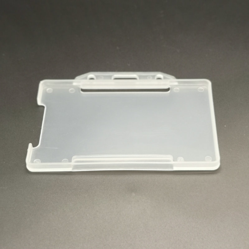 member clear flexible hard plastic id  card holder for Office School Supplies