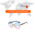 Fashion Sunglasses Newest 2020 Shades Women Square Eyewear Oversized Sunglasses