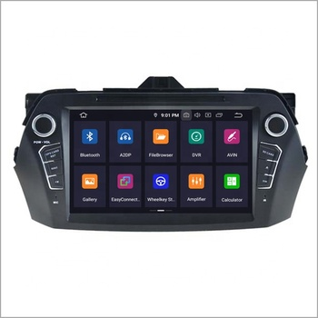 Newnavi double din car stereo with gps navigation android 9.0 car dvd player for SUZUKI CIAZ 2016