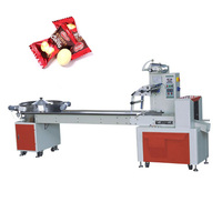 Tentoo multi function flow pack soft candy hard candy packing machine