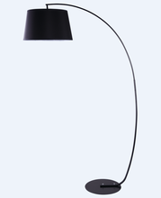 Fabric Shade Metal Base Modern Fashion Simple Arc Floor Lamp / <strong>Light</strong>
