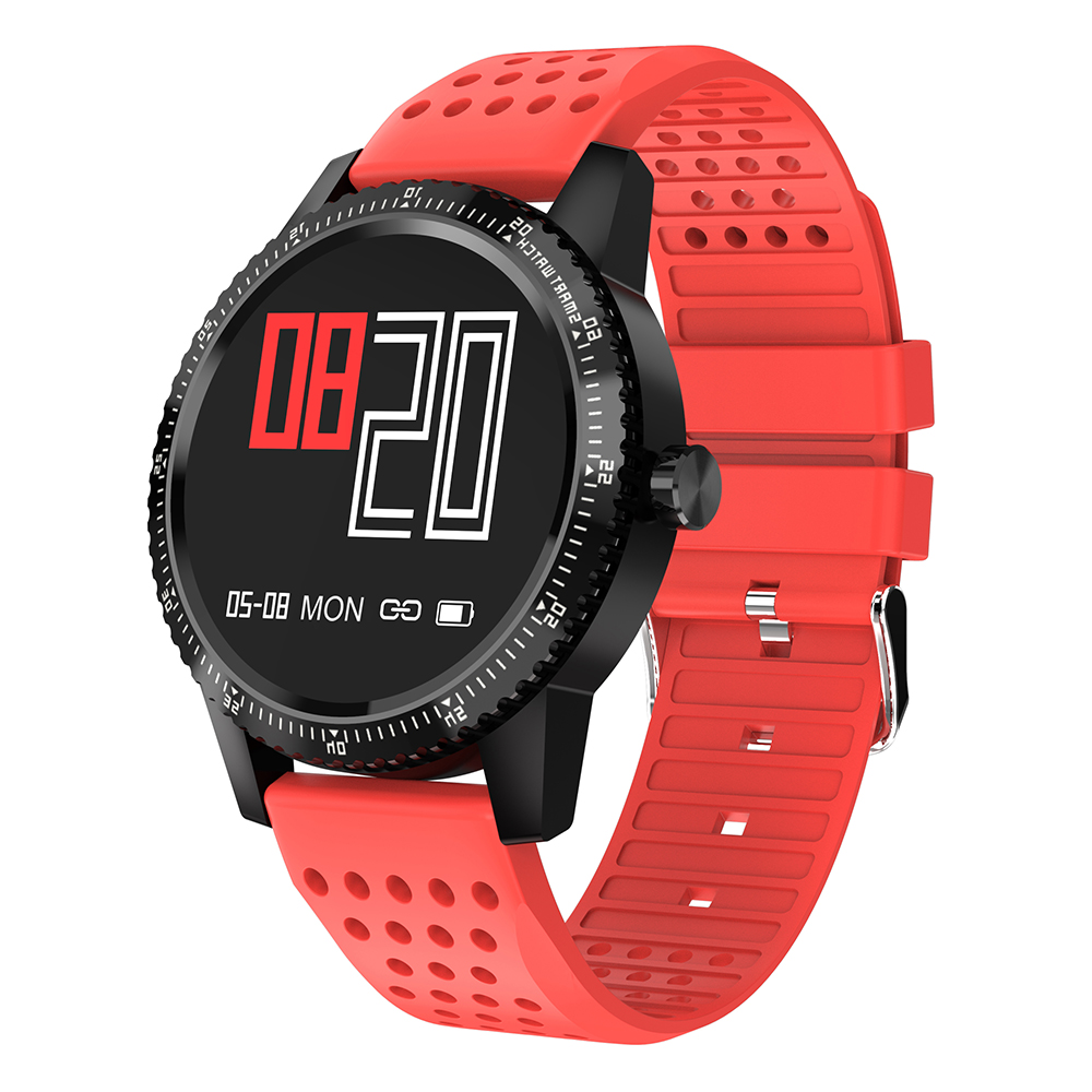 Fashionable IP68 waterproof High-end smart watch Refuse to receive calls, shake photos, sports goal setting, fitness information