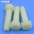 White nylon hexagonal screw DIN933 nylon bolt