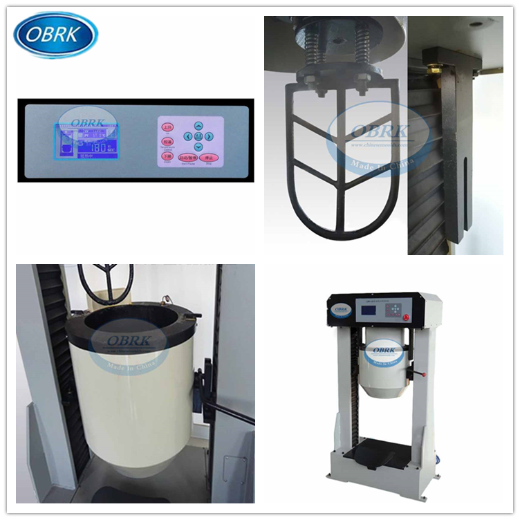 Asphalt testing Equipment vertical bitumen laboratory planetary mixer,planetary mixing machine