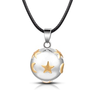 Fashional Jewelry Harmony Bola Ball Pendant Heart Chime Angel Callers 925 Silver for New Year Gift