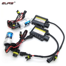 EURS New 12V 3500LM 6000K 35W 55W H1 H3 H4 H7 H11 9005 9006 880 881 car headlight ballast <strong>HID</strong> xenon kit light