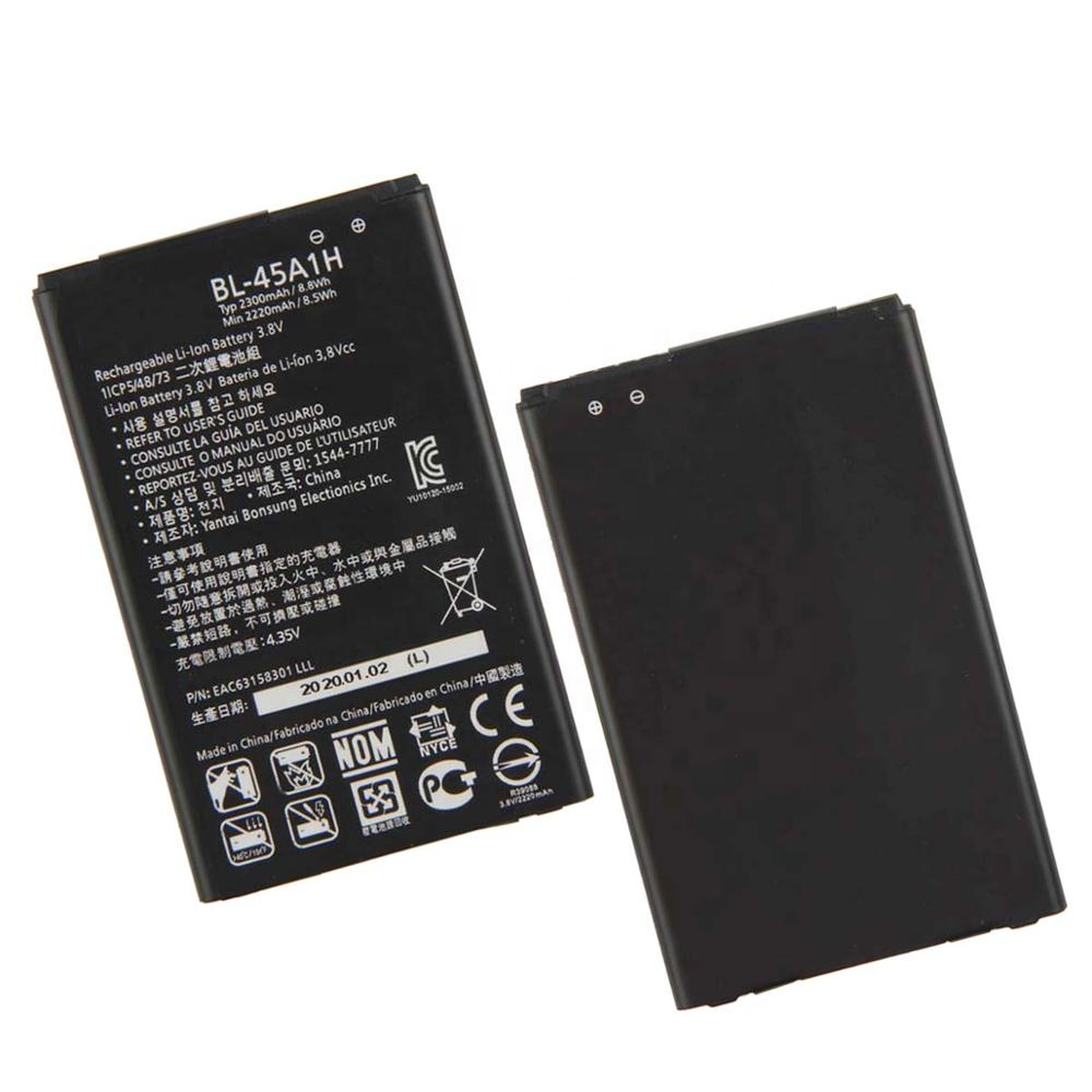 <strong>china</strong> products manufacturers BL-45A1H Battery for LG K10 LTE F670L F670K F670S <strong>Q10</strong> K420N 2300mAh li ion batterie