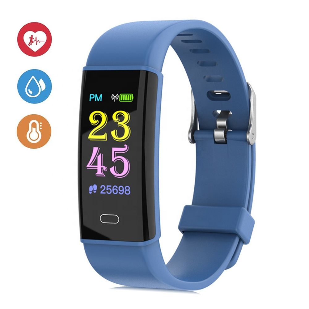 Factory Customize OEM Luxury Battery 0.96inch Colorful Screen <strong>D12</strong> Sport Smart Watch