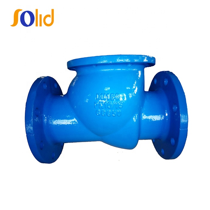 Ductile Iron Flanged End Swing Check Valve
