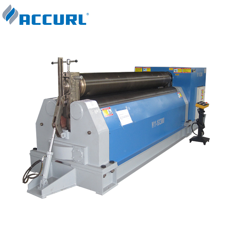Accurl <strong>W11S</strong> 3 <strong>roller</strong> electric rolling pipe bending machine