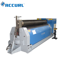 Accurl <strong>W11S</strong> 3 roller electric <strong>rolling</strong> pipe bending <strong>machine</strong>