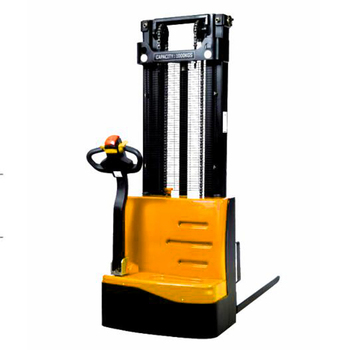 Easy to operate full electric hydraulic forklift stacker with 1500kgs