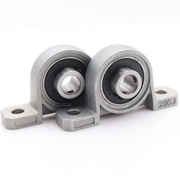 Bearing housing UP008 <strong>P008</strong> zinc alloy Self-aligning Ball Bearing Housing Holder Mount Pillow Block Bearing 10*35*14mm