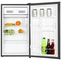 Home 3.3 Cuft Mini Single Door Compact Refrigerator With Freezer Box