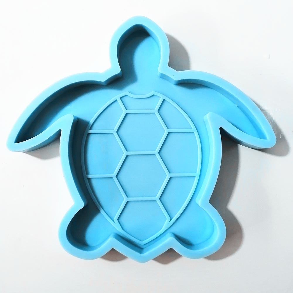 <strong>C010</strong> turtle silicone coaster mold