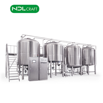 5000L industrial beer brewing equipment for large brewery