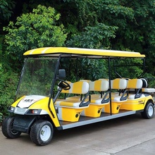 High Quality China New Gas Golf Cart Battery Powered 10 Seater Golf Cart