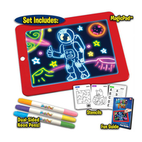 2020 children educational toys 3D LIghting Drawing Pad for kids