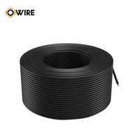 Owire Outdoor Cat6 UTP Cables Passed Fluke Test Anaerobic Copper 24AWG 4P+F HD-PE PVC LDPE CMR ODM OEM