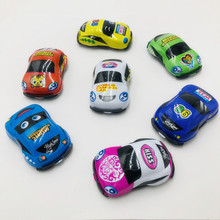 Stock Pull Back Inertial Soft Shell Car For Gift <strong>Friction</strong> Kids Toys Vehicles