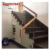 Australian hot sale interior frameless tempered glass stairs with stainless steel glass spigot