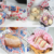 Food Wrapping Greaseproof Paper- Food Paper Liners Wrapping Tissue for Plastic Food Basket