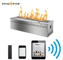 hot sale indoor smart remote controlled bio ethanol fireplace