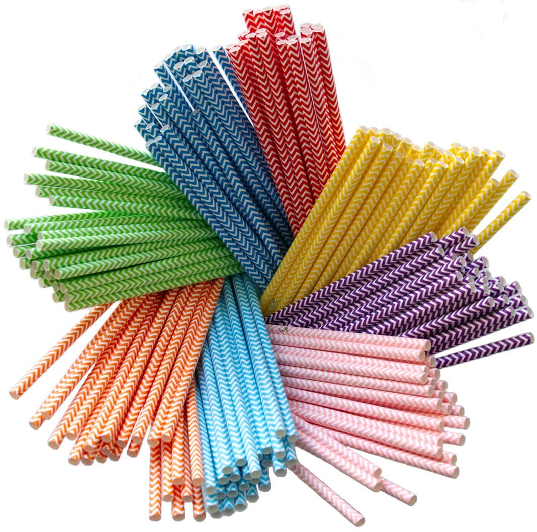 Paper Straws Diodegradable - Bulk Disposable Straws